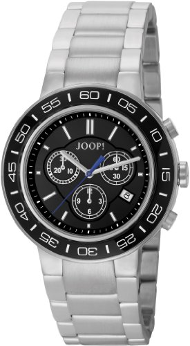 Joop Herren-Armbanduhr XL Insight Chronograph Quarz Edelstahl JP100911F02