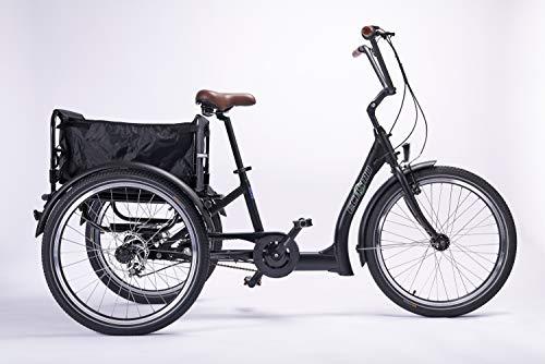 ECOSMO 26B29BL - Bicicleta de paseo ( clásica, 7 a 17 velocidades )
