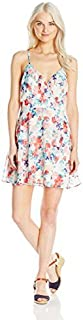 Speechless Women's Floral Ruffle Dress