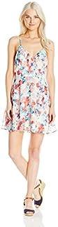 فستان نسائي مزين بالزهور من سبيشليس