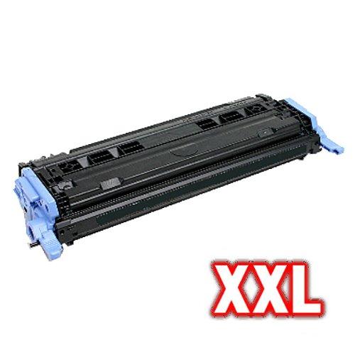 Print-Klex kompatibler XL Toner SCHWARZ für HP Q6000A 124A Color LaserJet CM1015 MFP BLACK