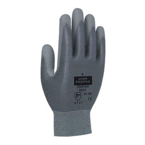 Uvex 609449Unipur 6631Sicherheit Handschuh, Größe: 9, grau