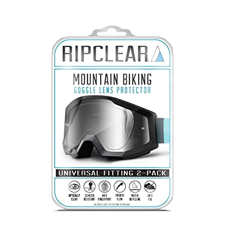 RIPCLEAR Mountain Bike Goggle Lens …