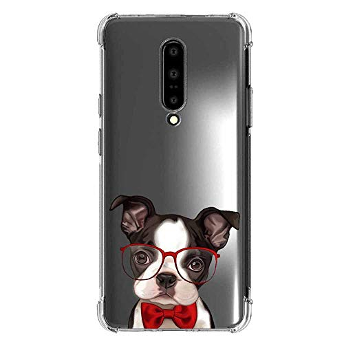 oneplus 7 pro Case Clear TPU Animal - Flexible Slim Clear TPU Silicone Case Cute Funny Animal Panda Cover Girl Women TPU Bumper Protector Protective Transparent Case for oneplus 7 pro-7