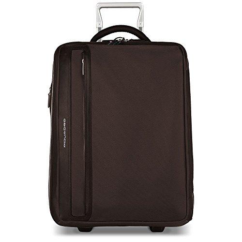 Piquadro Laptop Rollkoffer, 65 cm, 43 L, Braun
