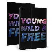 YOUNG WILD & FREE IPad ケース 軽量 薄型 スタンド機能 全面保護 PUレザー 手帳型 Ipad Mini4/5 7.9inch Ipad 2017/2018 9.7inch & Ipad Air 1/2 9.7inch スマートカバー