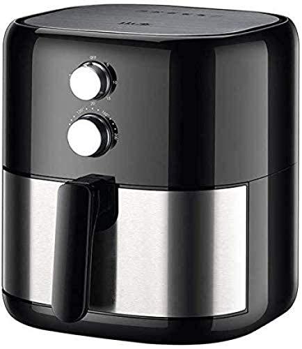 YLKCU Airfryer Ölfreie Fritteuse Ölfreie Antihaft-Pfanne mit schnellem Luftzirkulationssystem im Ofen Leicht zu reinigen und einstellbare Temperaturregelung
