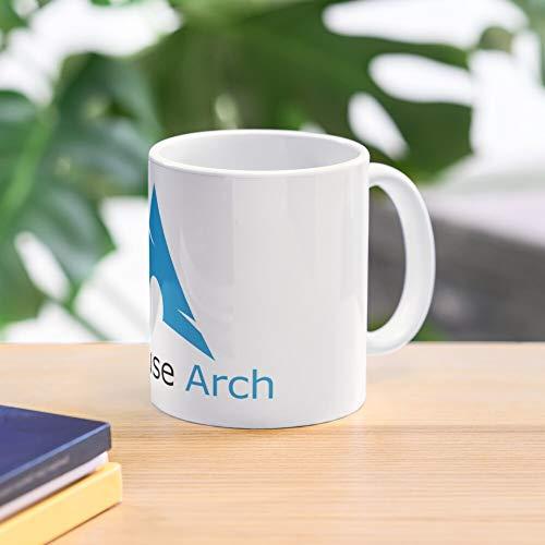 Nerd Arch Linux BTW Lovers Use Arch Linux Use Arch Best 11 oz Kaffeebecher - Nespresso Tassen Kaffee Motive
