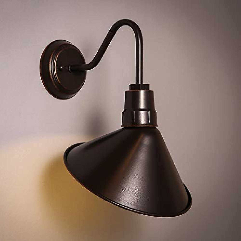 Retro- nostalgische Beleuchtung der Wohnzimmerschlafzimmer-Nachtrestaurant-Treppe E27 der amerikanischen Landwandlampe