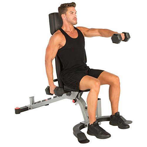 Fitness Reality X-Class 1500 lb Light Commercial Utility Weight Bench with Detachable Leg Lock Down