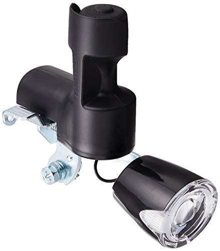 ブリヂストン(BRIDGESTONE) ライト LEDワイドダイナモランプ ヘッダーパック ブラック BD-L3 F650301BL