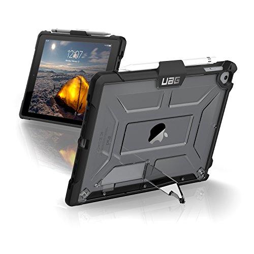 Urban Armor Gear Plasma para Apple iPad Pro 9.7 / 9.7 (2017 / 2018) / Air / Air 2 Funda con estándar militar estadounidense Case [soporte del lápiz táctil] - transparente