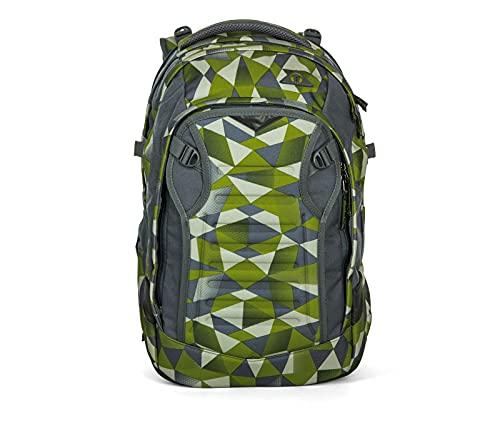 SATCH Green Crush Kinder-Rucksack, Grün Polygon