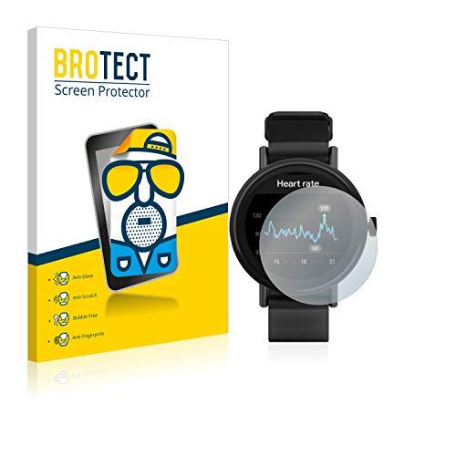 BROTECT 2X Entspiegelungs-Schutzfolie kompatibel mit Misfit Vapor 2 (46 mm) Bildschirmschutz-Folie Matt, Anti-Reflex, Anti-Fingerprint