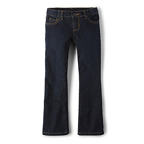 The Children's Place Little Girls' New Bootcut Jean, Odyssey, 4