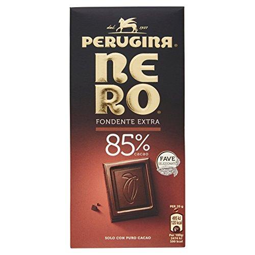 NERO PERUGINA Fondente Extra 85% tavoletta di cioccolato fondente con 85% di cacao 100g