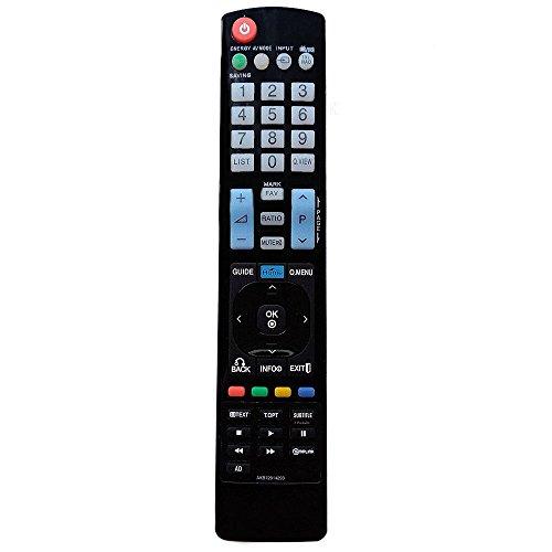 allimity AKB72914293 Reemplace el Ajuste de Control Remoto para LG TV 42PT351 50PT351 42PT353 50PT353 50PV350 50PV250 60PV250
