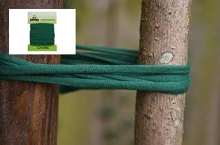 Biostretch Baumbinder und Großpflanzenbinder, Gartenschnur, Gartenschnur, umweltfreundliche sanfte grüne Pflanzenstütze 8 Meter extrabreit und umweltschonend