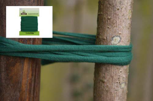 Cuerda de jardinería BioStretch, cordel de jardín y corbata de árbol para plantas inteligentes, soporte elástico para plantas para todos los jardineros. Tarjeta de 8 m