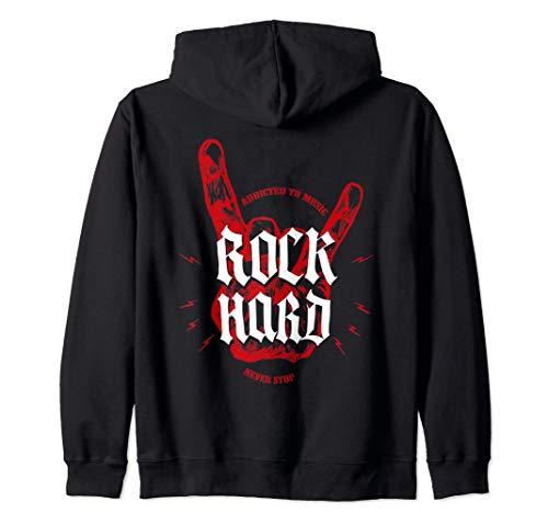 Música Heavy Metal, Hard Rock Sudadera con Capucha