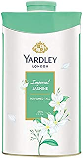 Yardley London Imperial Jasmine Perfumed Talc for Women, 250g