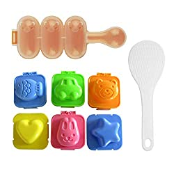 SQdeal HG6 Cartoon Cute Boil Egg Sushi Rice Decorating Mold Mould