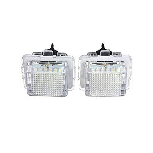 GOFORJUMP Lumière de Lampe de Plaque d'immatriculation de Coffre arrière de Voiture pour B/ENZ W204 W212 W216 W221 W204 5D