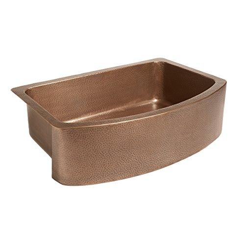 Sinkology SK304-33B-WG-D Copper Kitchen Sink