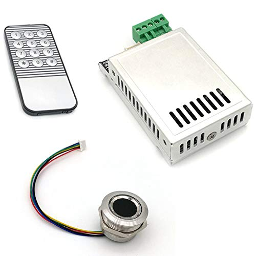 Cuasting K216 Tablero de Control de Huella Dactil+R503 Módulo de Huella Dactil Dos Colores Indicador de Anillo Control de Acceso