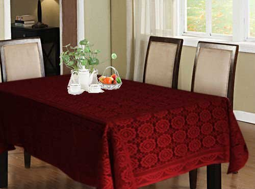 Avioni Square Dining Table Cover (60x90-inches Red)  sc 1 th 225 & Dinning Table Cloth: Buy Dinning Table Cloth Online at Best Prices ...