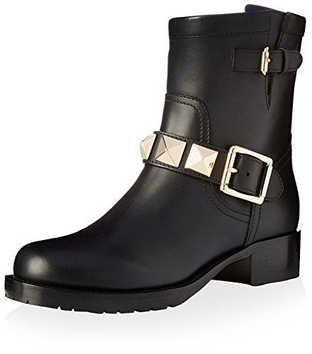 Valentino Damen Rockstud Stiefeletten, (schwarz), 38 EU