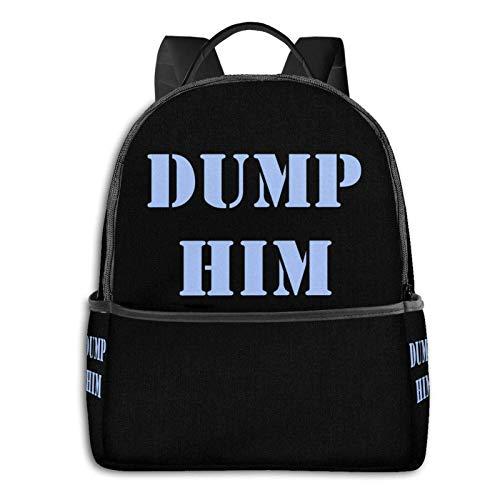 zhengdong Dump Him - Sudadera con capucha, 1 bolsa para estudiante, escuela, ciclismo, ocio, viajes, camping, al aire libre, bapa