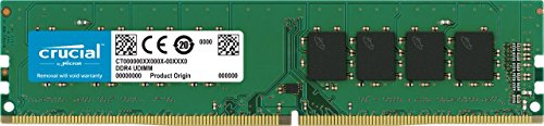 Crucial CT8G4DFD824A 8GB Speicher (DDR4, 2400 MT/s, PC4-19200, Dual Rank x 8, DIMM, 288-Pin)