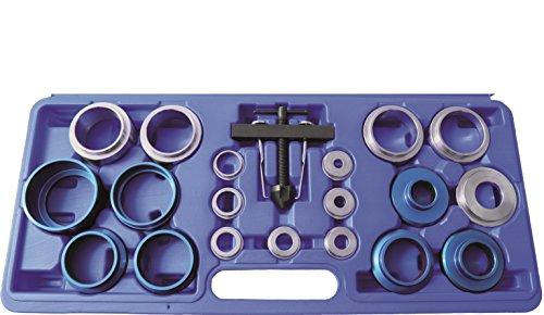Kunzer 7SAE20 Montagesatz für Wellendichtringe, 20-Teilig im Koffer