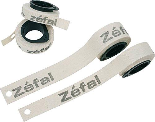 ZEFAL 9142.0 Paquete de 10 Cintas Fondo Llanta Carretera, Unisex Adulto, Blanco, 13 mm