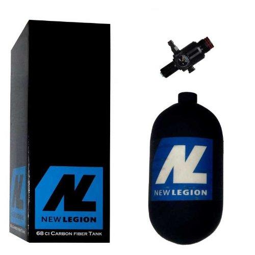 New Legion Paintball Dwarf Composite inkl. Ninja UL Regulator, 1.1 Liter, 61508