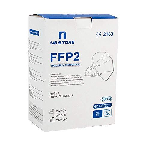 Eurekaled 20 Stück Atemschutzmaske Kn95 / FFP2 Atemschutzmaske Staubschutz 4-lagig - 4