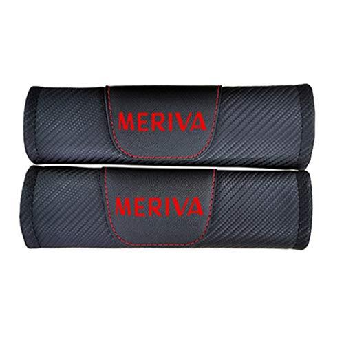 QYHL 2 Stück Beltpad Gurtpolster für Opel Meriva, Sicherheitsgurt Polsterung, Auto Sicherheitsgurt, Bügel Gurtschutz Strapazierfähige Autositzgurtpolster