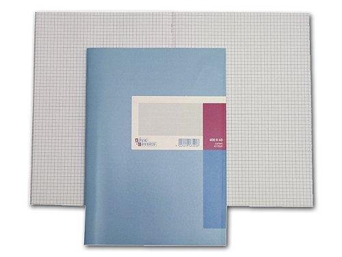 König & Ebhardt 8614211 Geschäftsbuch / Kladde (A4, kariert, 80g/m², 40 Blatt, Drahtheftung)