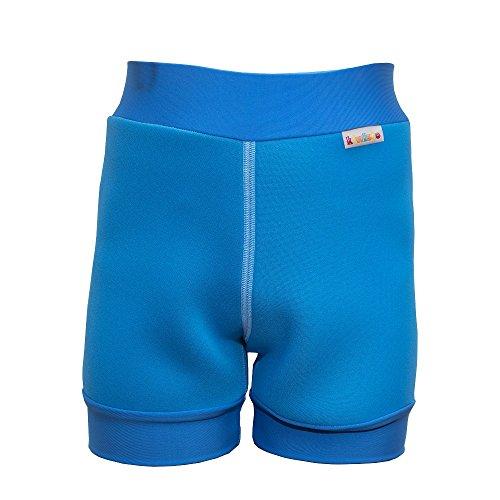 kiwisto Kids Neopren Schwimmwindel für Schulkinder mit Inkontinenz - blau - XS - 116/128