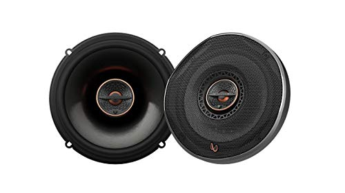 Infinity REF6522IX 6.5' 180W Reference Series Coaxial Car Speakers With Edge-driven Textile Tweeter,...