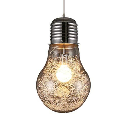 KJLARS LED Super Big lampadina Luci Pendenti Moderna Minimalismo lampada a sospensione (23cm)