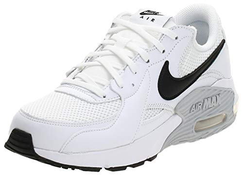 Nike Womens WMNS AIR MAX EXCEE Running Shoe, White/Black-Pure Platinum, 40.5 EU