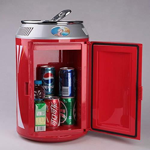 YWW-DJ Mini Car Kühlschrank, 11 Liter Tragbare Mini-Kühlschrank Cooler und Wärmer mit AC/DC-Netzkabel Super Quiet In-Vehicle Gefrierschrank for Auto, Schlafzimmer