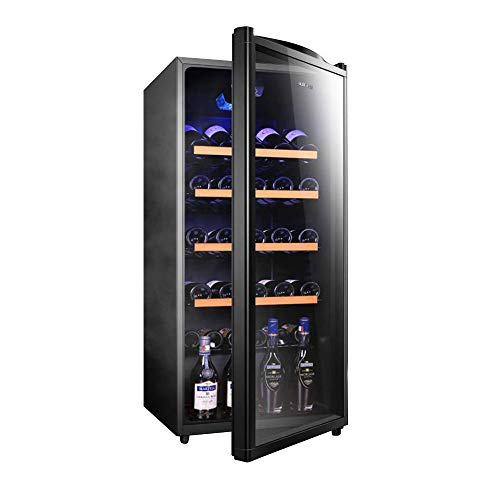 CHENMAO Silent Wine Refrigerator, Drink Cooler and Refrigerator for Wine Lovers, Perfect for Soda or Wine