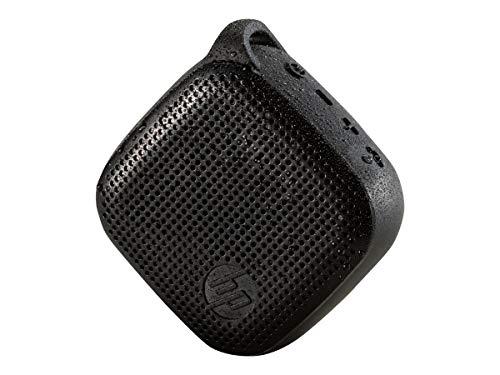 HP (X0N11AA) Bluetooth Mini Lautsprecher 300 (bis zu 8 Stunden Spielzeit, spritzwassergeschützt, Stereo-Sound) schwarz