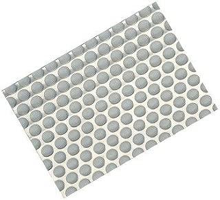 Hafele Undersink matting, 1150 mm W x 625 mm D (451/2 inch W x 24-5/8 inch D), polystyrene, gray, stainless