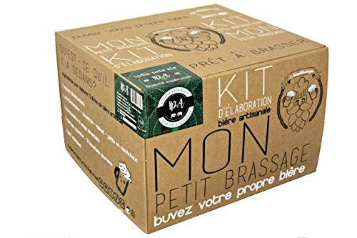 Cervezanía Petit Brassage - Kit Brassage Bière IPA - India Pale Ale - Mode d'Emploi FR/EN - Bière artisanale pour brasser à la maison 21