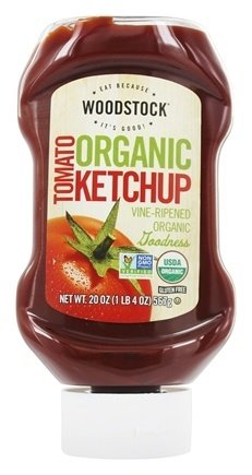 Woodstock Farms - Organic Tomato Ketchup Special price for a supreme limited time oz. of 20 pack 2
