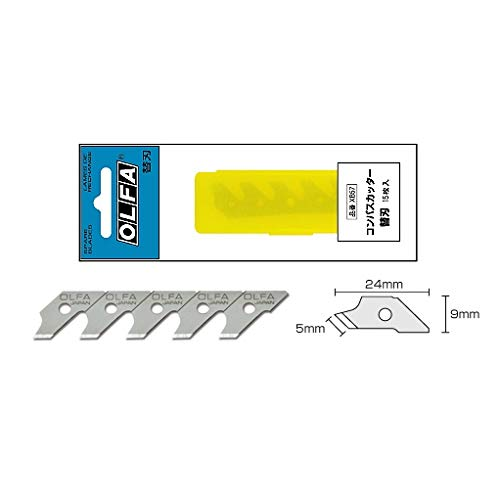 オルファ コンパスカッター 替刃 XB57 10個セット